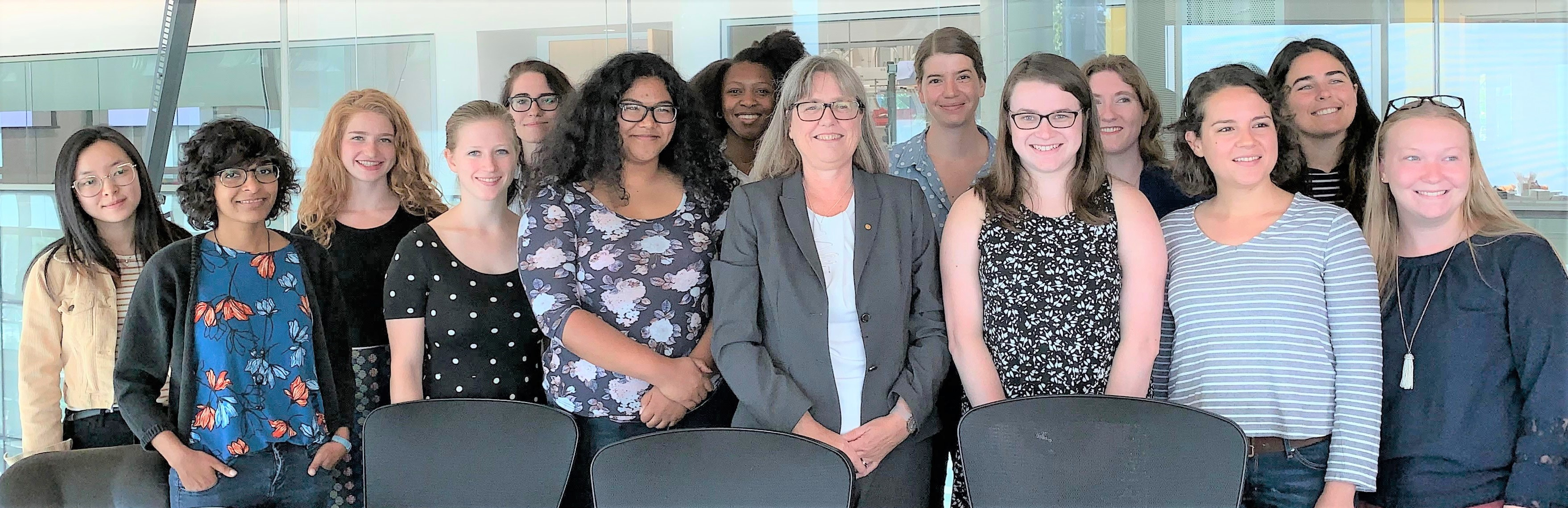 Donna Strickland visited UMD on 9/19/19.